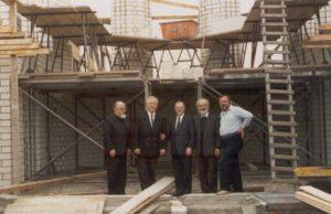 Η Εκκλησία θεμελιώθηκε στις 25.08.1985 από τον Μητροπολίτη Ηλιουπόλεως κ. Αθανάσιο κατά παραχώρηση του παρισταμένου Μητροπολίτου Γερμανίας