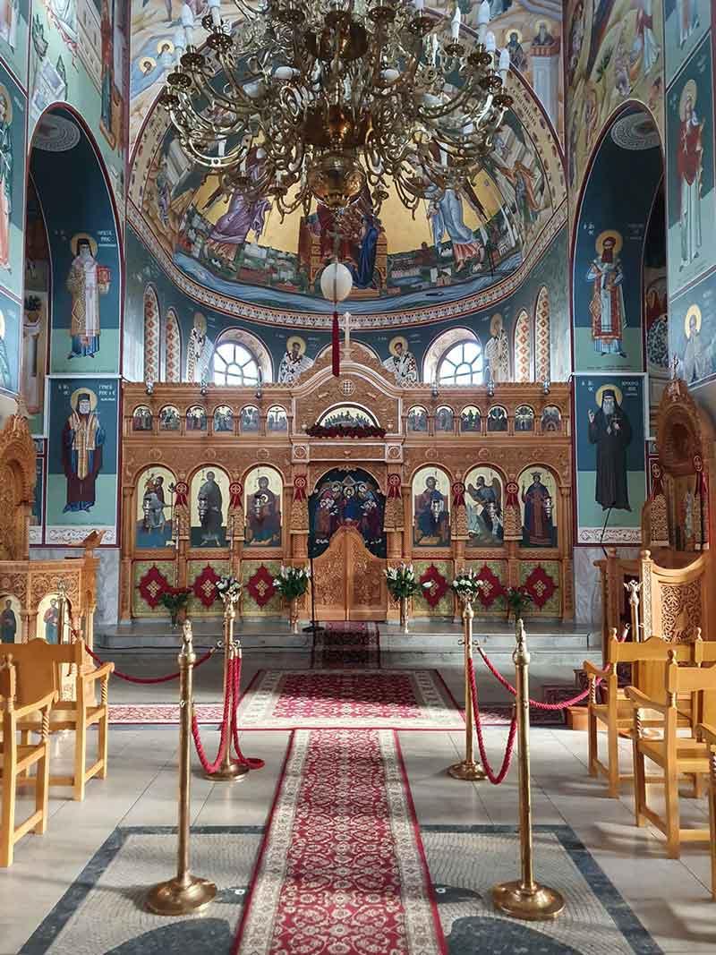 Είσοδος του Ι. Ν. Αγίου Ανδρέα Ντύσσελντορφ